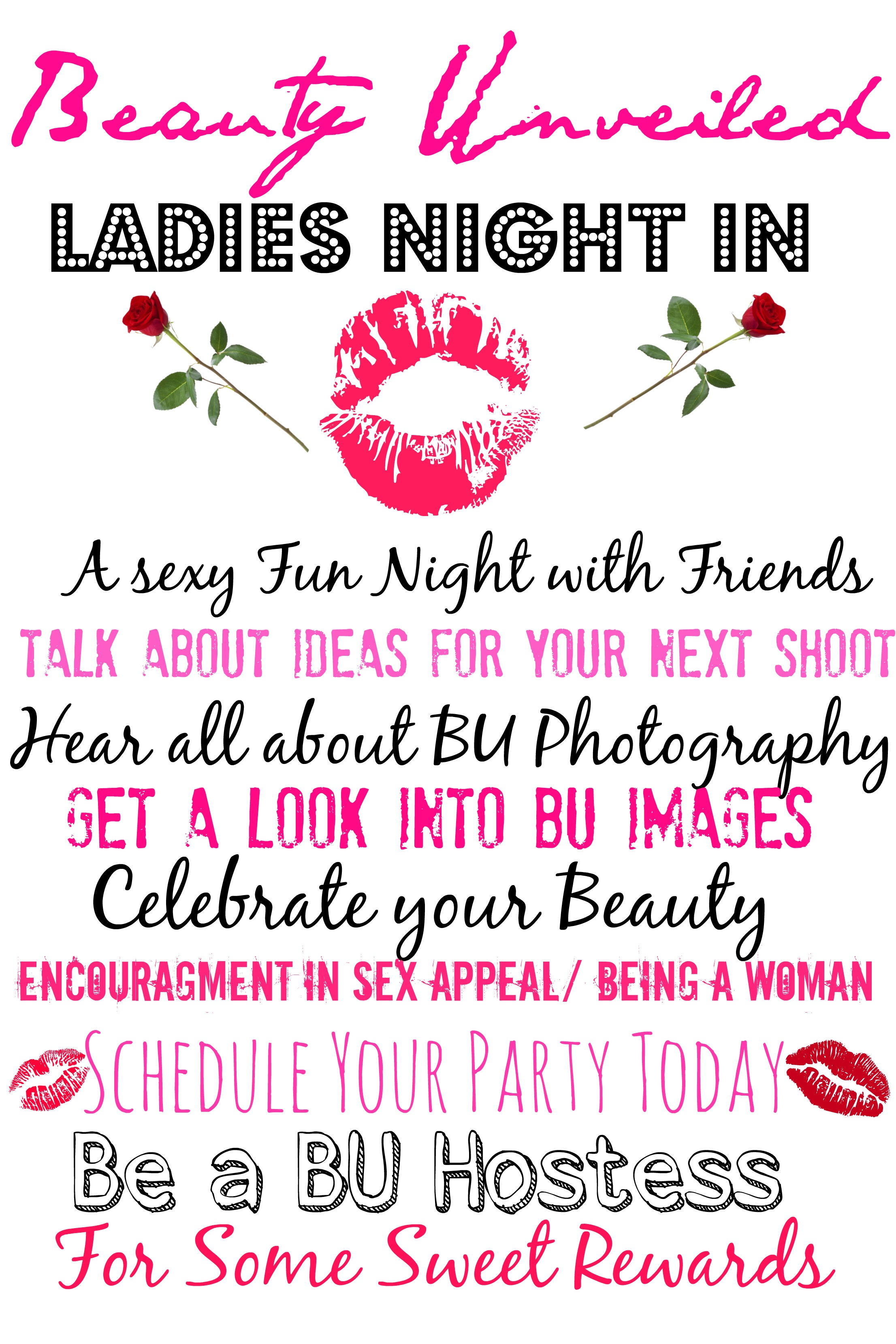 LADIES NIGHT IN PARTIES – BEAUTY UNVEILED STUDIOS